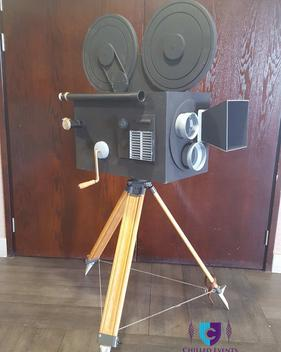 Hollywood Camera 1920s Event Gatsby Prop Hire