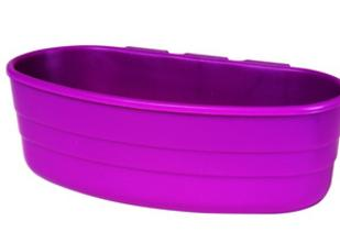 Plastic Cage Cup 1/2 Pint, comes in Blue, Purple, Green and Black