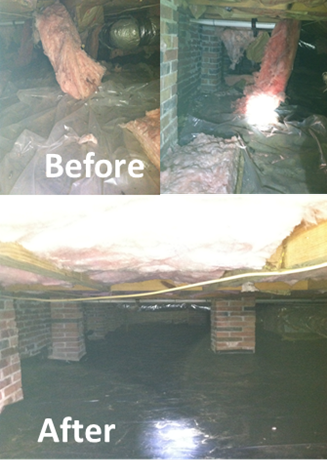 Attic And Crawlspace Restoration Kentucky