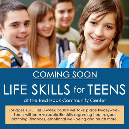 Life Skills ffor Teens, Red Hook Community Center