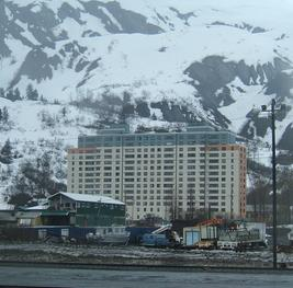 Lodging in Whittier's Begich Towers