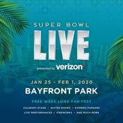 Miami Events; Super Bowl Live; Bayfront Park; Bayside; Miami DowntownEvents; Family Events; Sport Events; American Football.