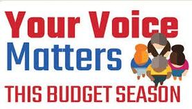 Click here to fill out a 2018 budget survey