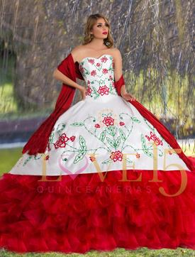 Love Mexico Quinceanera Dress