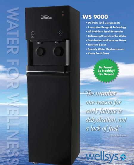 WS9000 Bottleless Water Dispender