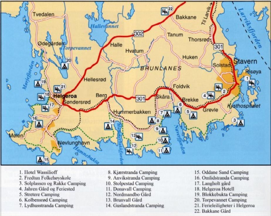 kart stavern Kart Veiforklaring kart stavern