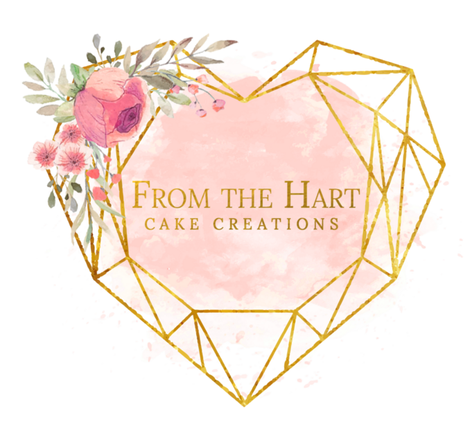 From the Hart cake creations logo