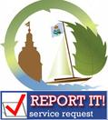 Logo for the Annapolis Report It! service request form