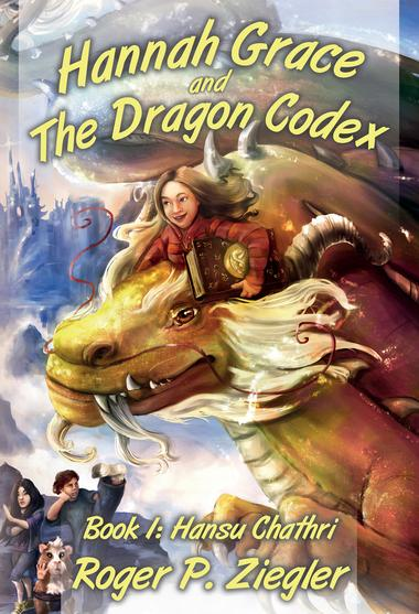 Hannah Grace and the Dragon Codex Book 1 Cover