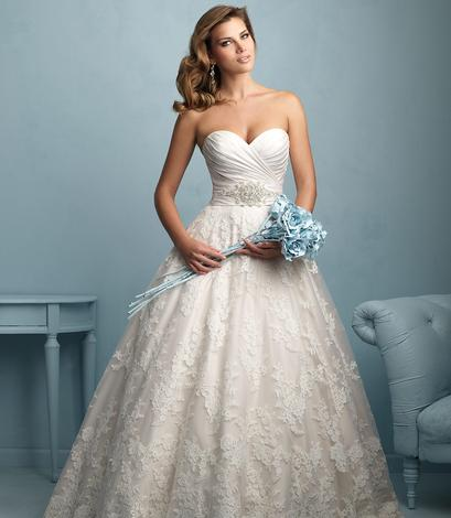Schedule a bridal gown try on appointment with The Wedding Parlour.