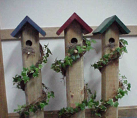 Decorative Birdhouses