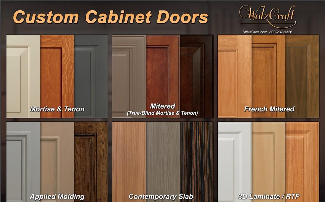 Solid Wood Custom Cabinet Doors South Florida
