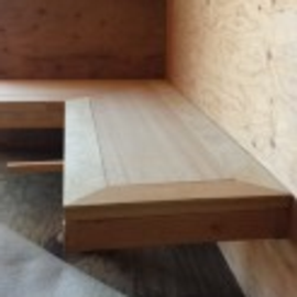 Classroom Benches by Paul Berg