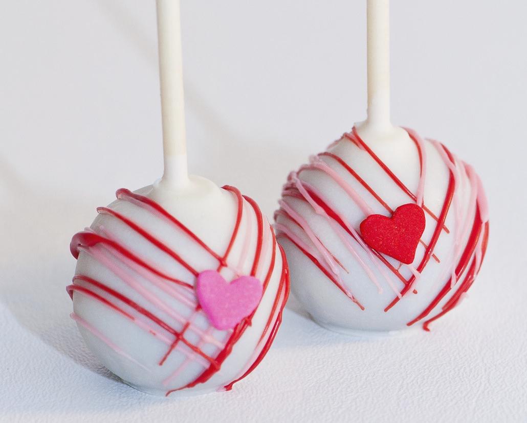 Valentine S Day Cake Pops At Christie S Cake Pops