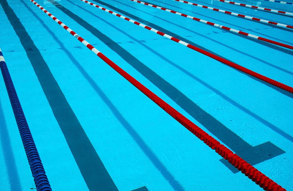 Swimming Pool Lane Lines Background home