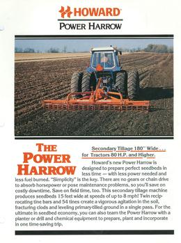 Howard Power Harrow Brochure