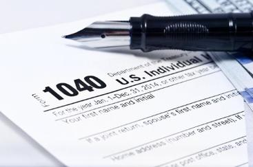Form 1040 Federal Taxes