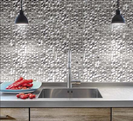 Gresite museum de metal enmallado para frontal de cocina - Gresite para cocinas ...