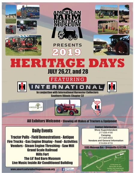 Farm Heritage Days