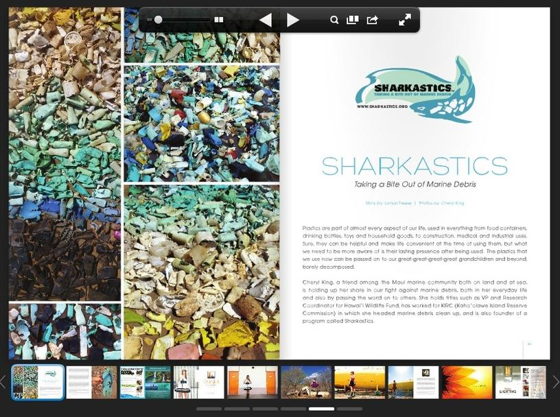 CR8 Magazine SHARKastics article