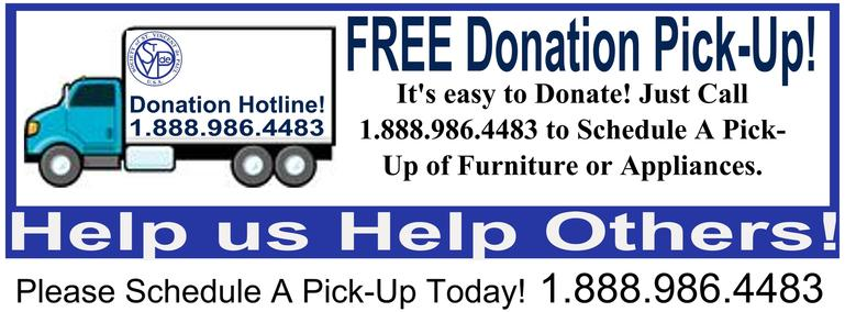 St Vincent De Paul Free Donation Pick Up Used Clothing