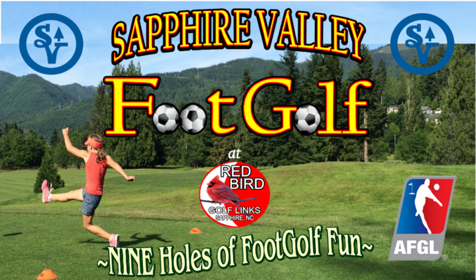 Foot Golf, Sapphire Valley Resort North Carolina, Smoky Mountains Blue Ridge Mtns, Golf Ski Tennis Zip Line, Winter Ski Area, High South Adventures