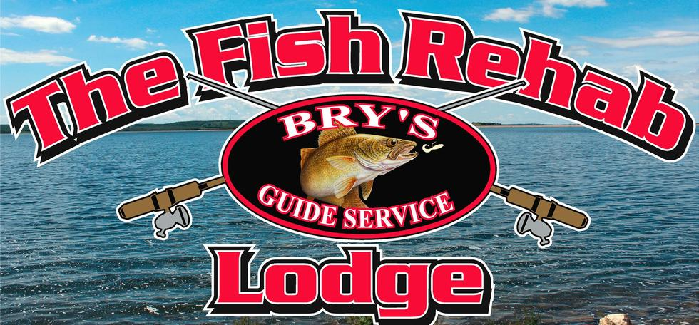 Brys guide service fishing charters guiding walleye for South dakota ice fishing guides