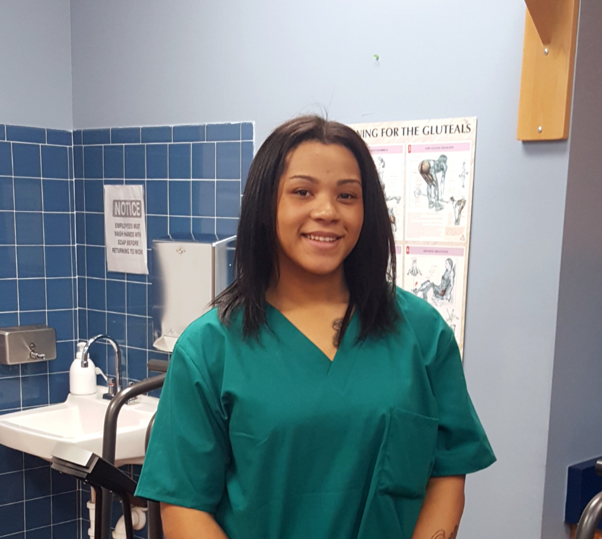 about us teyarna lewis is a chiropractic assistant she handles scheduling tasks administer claims educate patients and assist patients certain medical