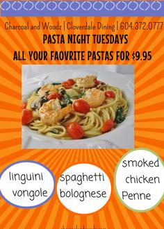 Pasta Nights in Surrey Langley