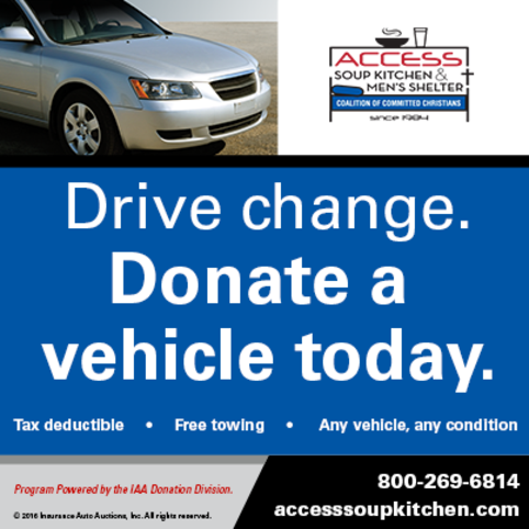 Drive Change - Donate a vehicle!