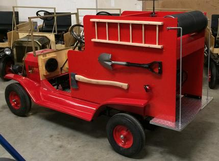 Extended Retro Fire Truck
