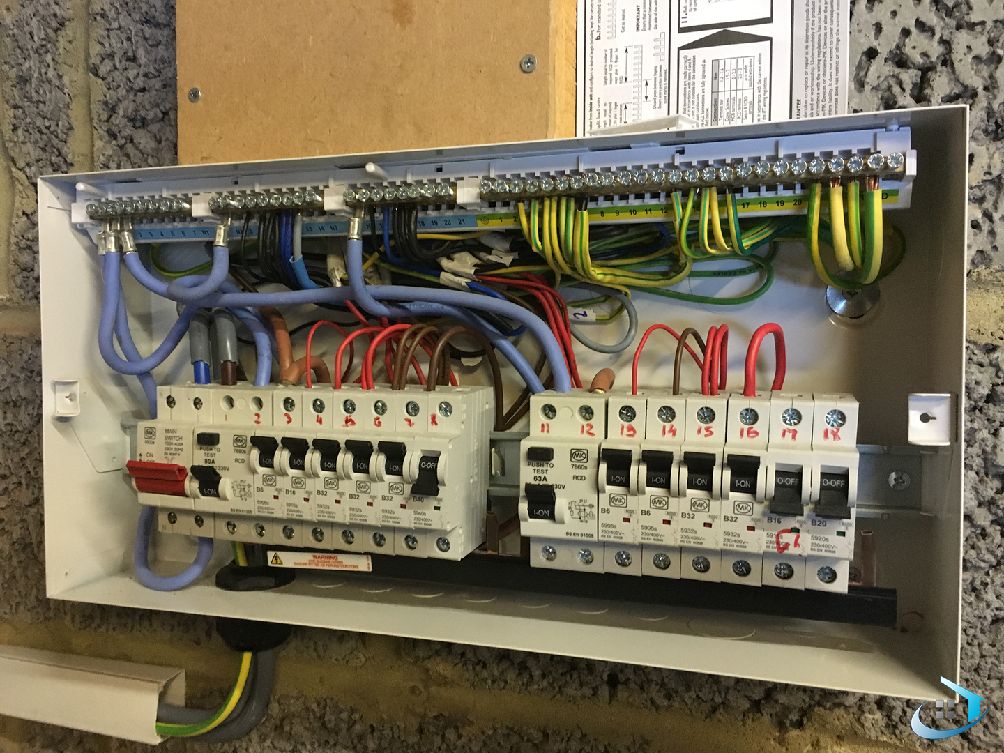 Beautiful split load consumer unit wiring diagram contemporary fine wylex consumer unit wiring diagram photos the best electrical cheapraybanclubmaster Choice Image