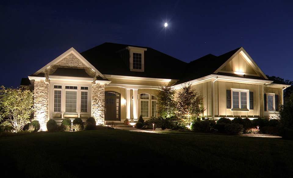 Showcase your home after sunset with our custom landscape lighting