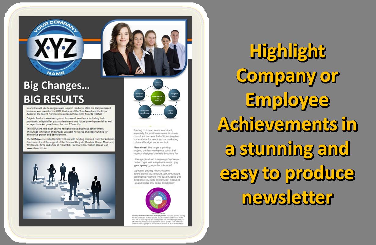 companies newsletter ideas
