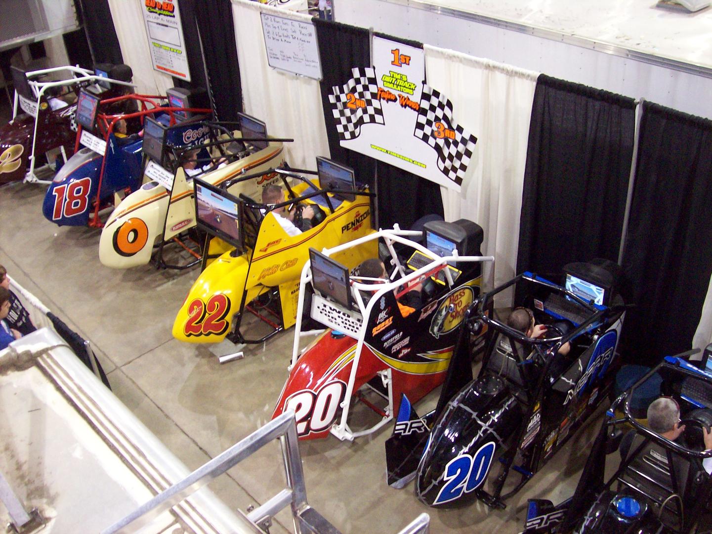 Tim's Dirt Track Simulators - Racing Simulators, Racing