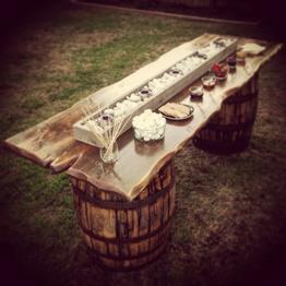 Rustic Parties S'more Troughs and Barrel Bars, Southern California Orange County Wedding and Parties