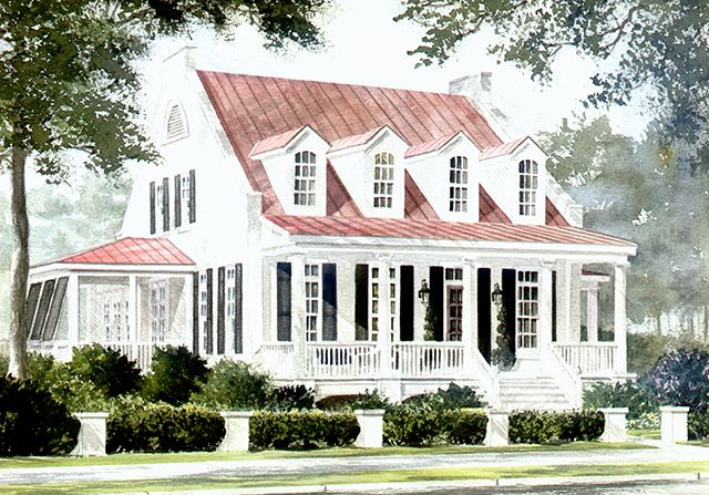 southern style homes - Southern Style Houses