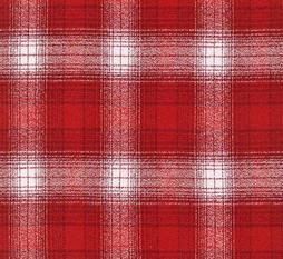 Red Country Plaid Mammoth Plaid Red Plaid Flannel Yarn Dyed Flannel