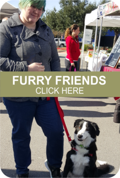 Our markets are 100% pet-friendly!