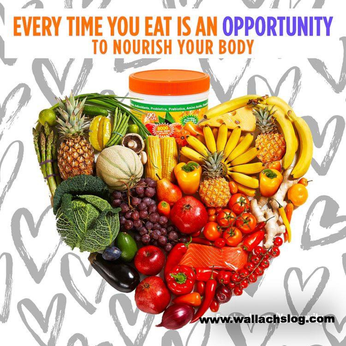 Every Time You Eat Is An Opportunity To Nourish Your Body!