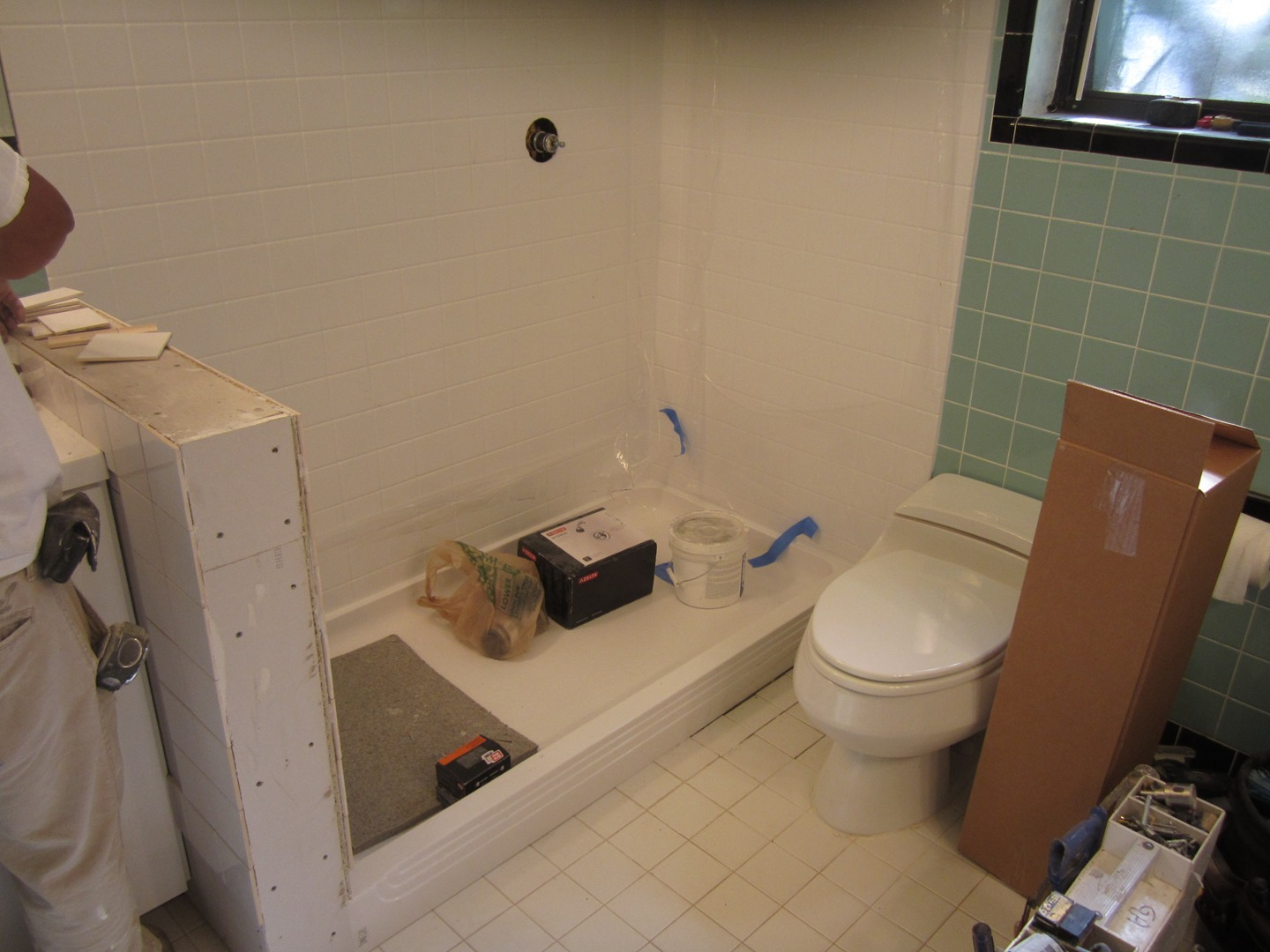 one day bath remodeling