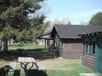 cabins at Black Bear Camp Webbwood