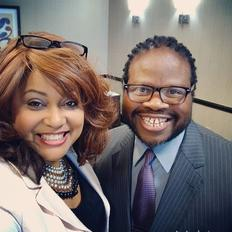 Dr. Angela Chester and Earnest Faust