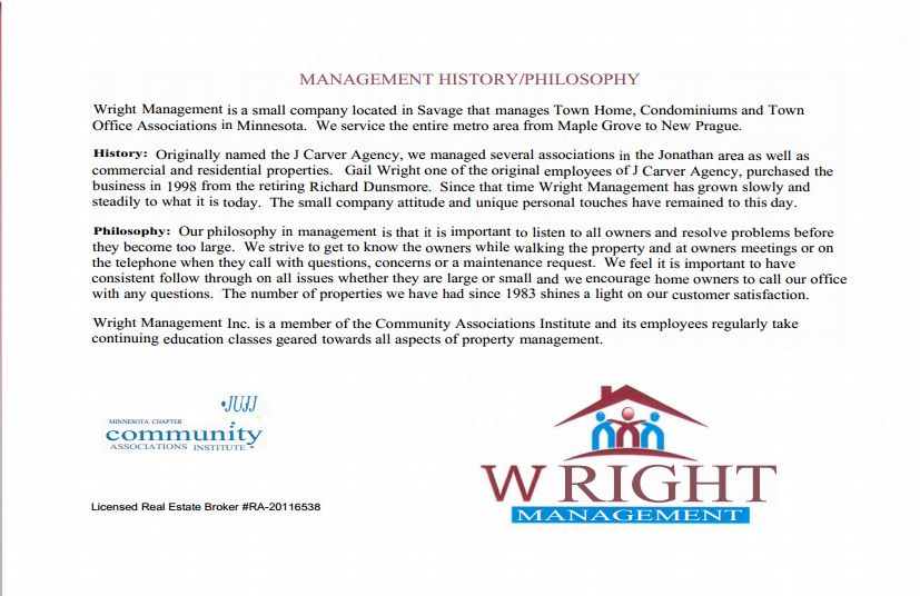 Wright management condo management hoa management altavistaventures Image collections