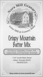 Nora Mill Crispy Mountain Batter Mix Recipe