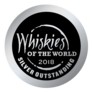 Silver Outstanding winner - 2018 Whiskies of the World