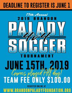 Palady 4v4 Soccer Tournament