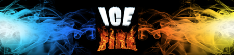 Fire and Ice Theme Prop hire