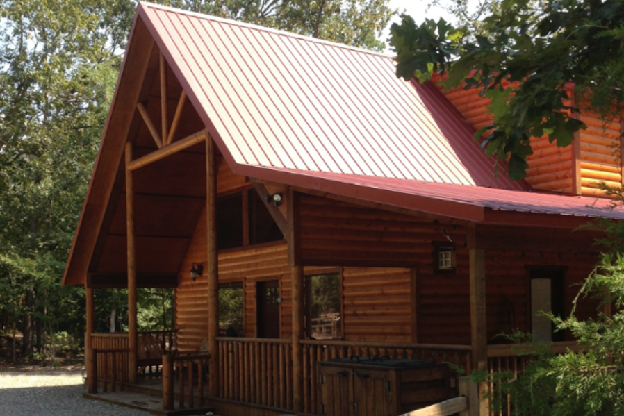 bow in cabins beavers index bend broken for rent log oklahoma