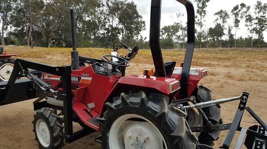 Yanmar F175D 4x4 used compact tractor for sale